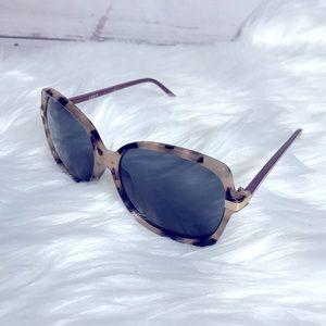 LOFT Tortoiseshell Two Tone Sunglasses